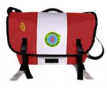 A Red-White-Red Courrier Bag
