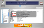 AOL Radio for Mac Interface