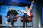 Steve Jobs and Bill Gates at D Conference