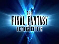 Title Shot From Final Fantasy Retrospective