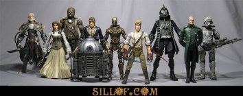 Steampunk Star Wars Action Figures