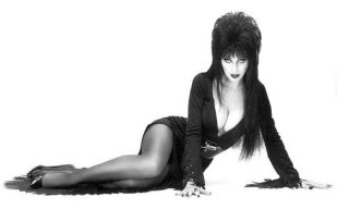 Elvira in repose.